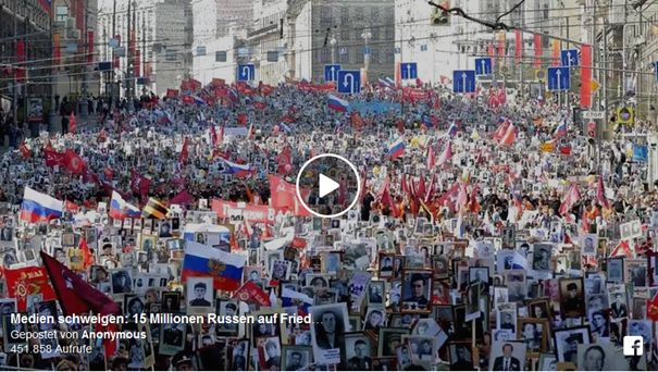 Friedensdemonstration in Moskau (2)